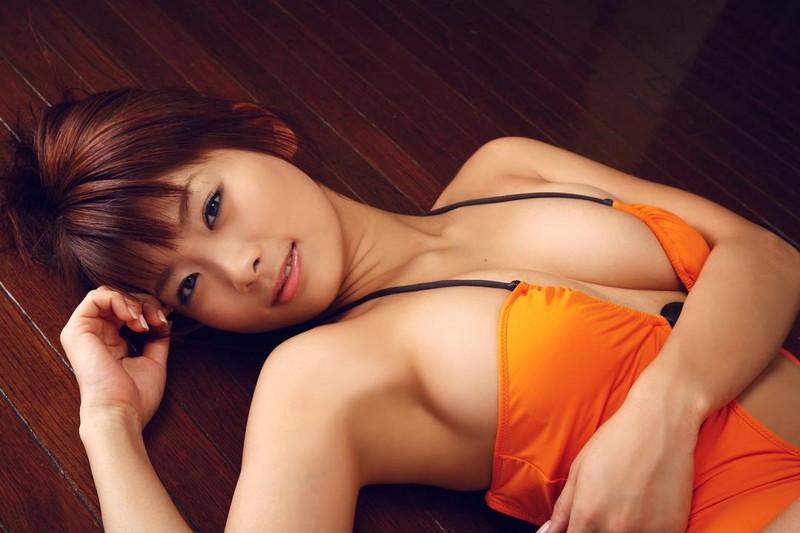 【堀田ゆい夏グラビア画像】Fカップ巨乳に大きなお尻がエロいスタイル抜群ギャル! 71