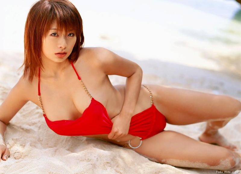 【堀田ゆい夏グラビア画像】Fカップ巨乳に大きなお尻がエロいスタイル抜群ギャル! 76