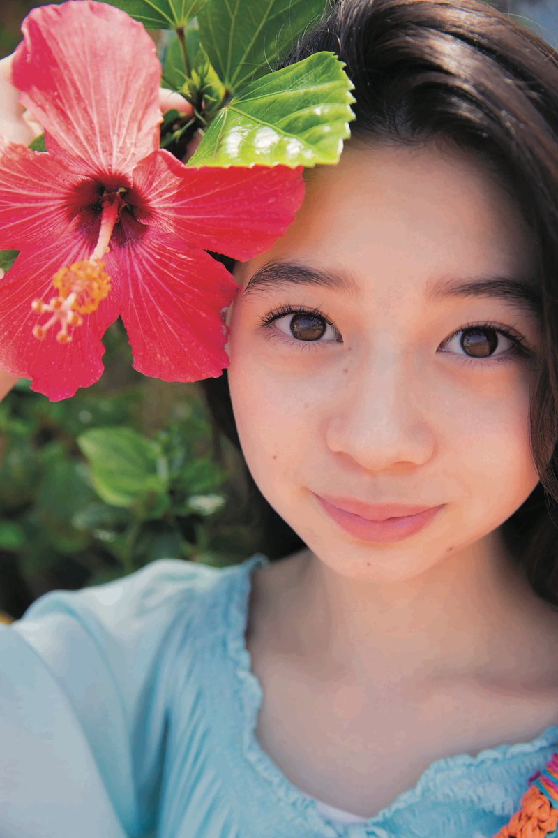 【福原遥グラビア画像】21歳で芸歴15年の若くて可愛いベテラン女優の水着姿 17