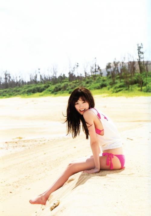 【福原遥グラビア画像】21歳で芸歴15年の若くて可愛いベテラン女優の水着姿 57