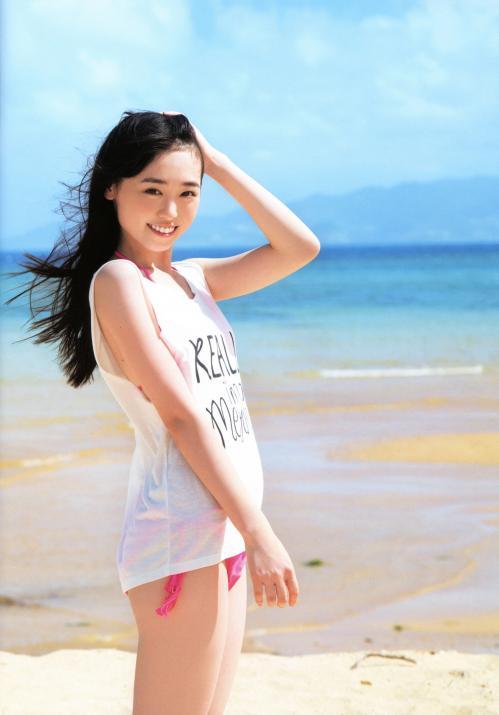 【福原遥グラビア画像】21歳で芸歴15年の若くて可愛いベテラン女優の水着姿 58
