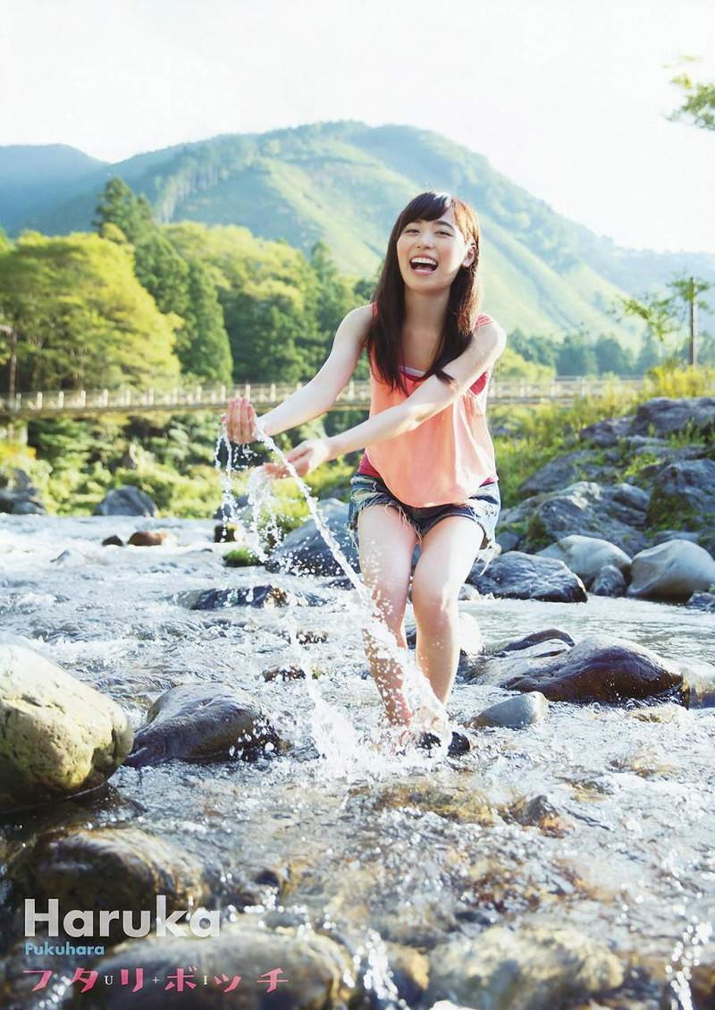 【福原遥グラビア画像】21歳で芸歴15年の若くて可愛いベテラン女優の水着姿 70