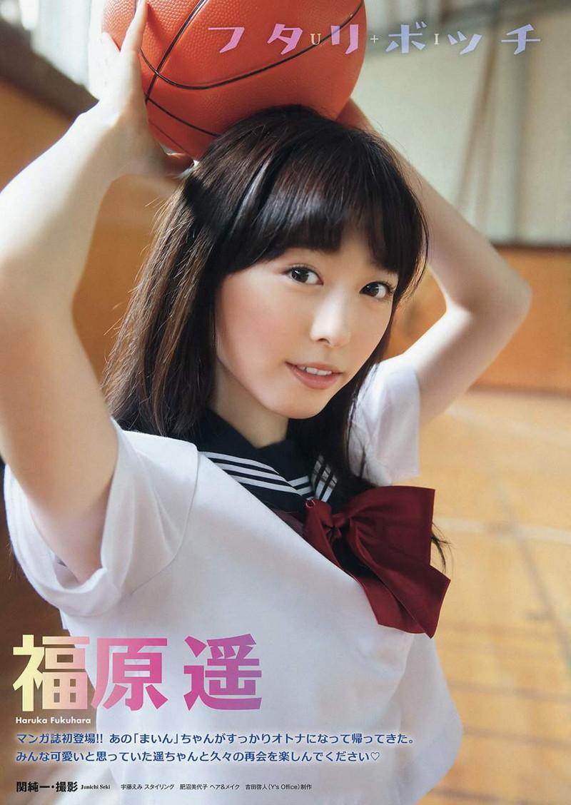【福原遥グラビア画像】21歳で芸歴15年の若くて可愛いベテラン女優の水着姿 76