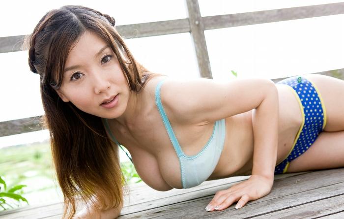 【福永ちなお宝画像】パイズリ狭射したくなるGカップ90cmバストが抜ける!