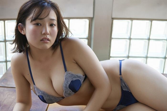 【花咲ひよりエロ画像】禁止されてたファン繋がりがバレて解雇されたロリ巨乳アイドル 38