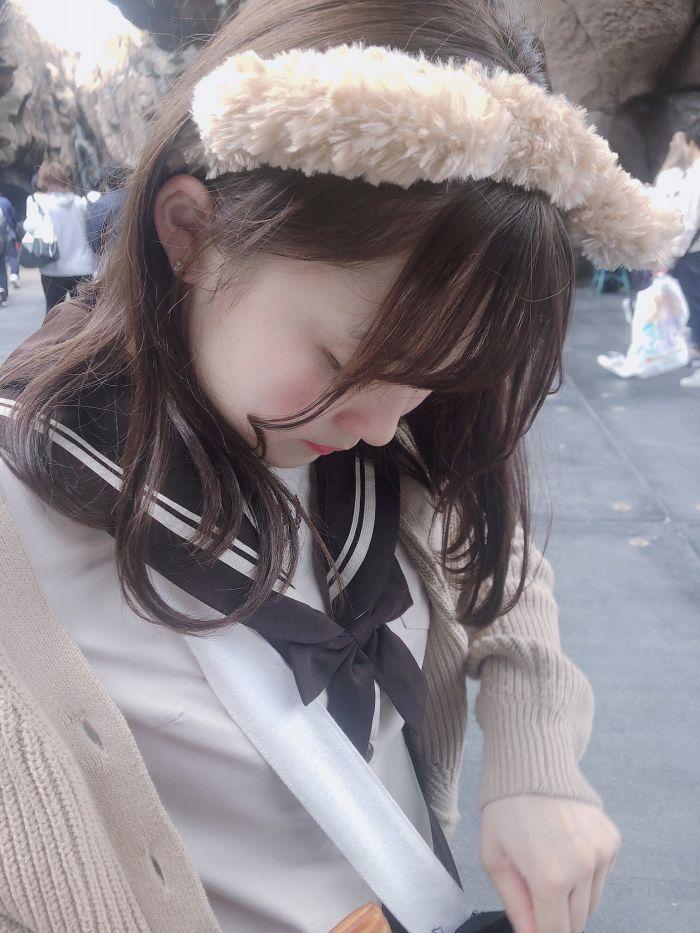 【花咲ひよりエロ画像】禁止されてたファン繋がりがバレて解雇されたロリ巨乳アイドル 62