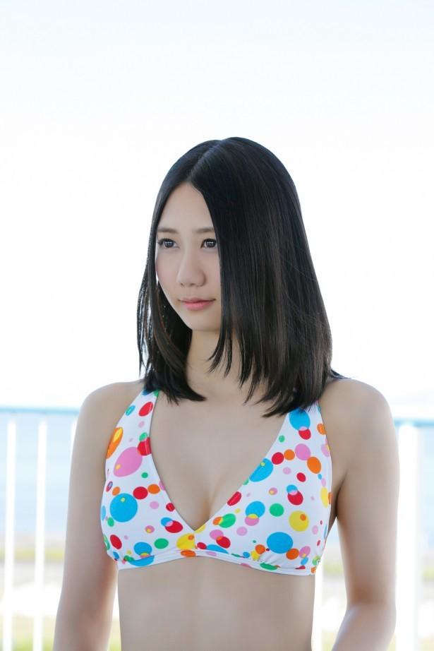 【古畑奈和グラビア画像】SKE48アイドルの可愛くてちょっとエッチなビキニ写真 05