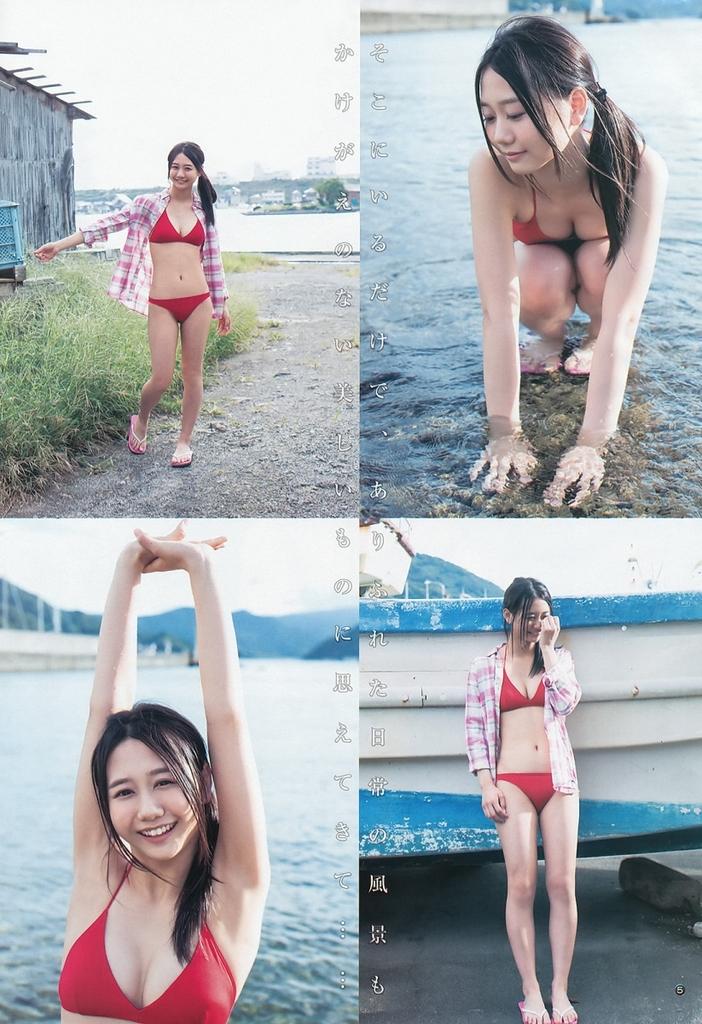 【古畑奈和グラビア画像】SKE48アイドルの可愛くてちょっとエッチなビキニ写真 14