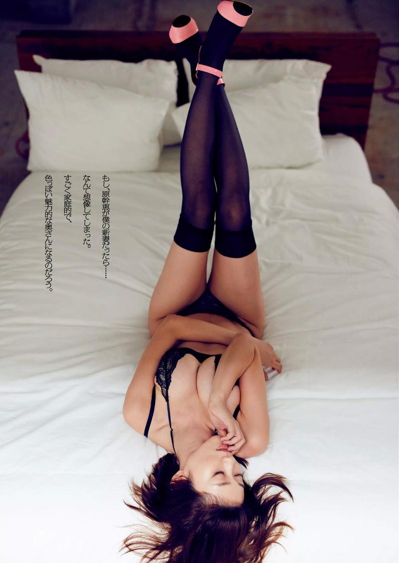 【原幹恵グラビア画像】キューティーハニーで女優デビューしたGカップ美女の現在は? 46