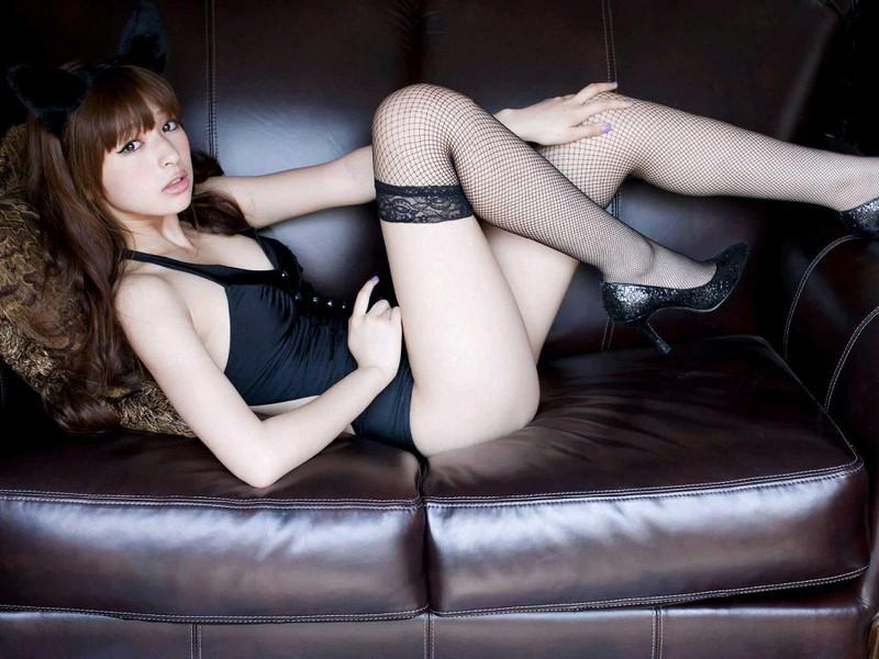 【日南響子キャプ画像】入浴シーンや猫耳コスプレそして乳首を見せてるお宝画像 41