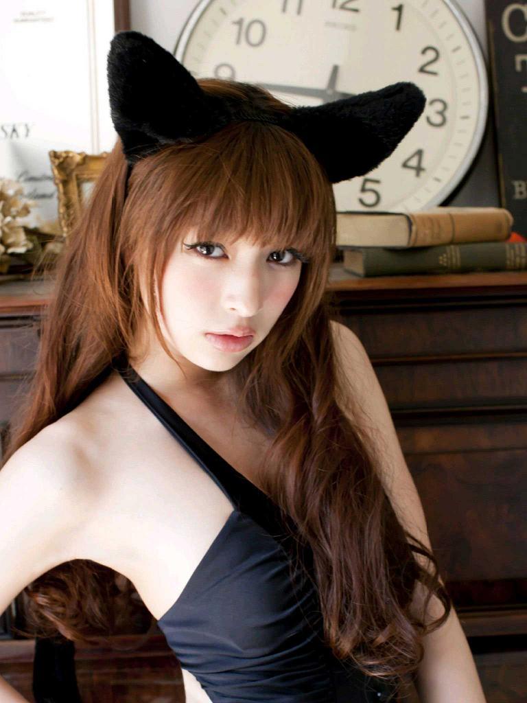 【日南響子キャプ画像】入浴シーンや猫耳コスプレそして乳首を見せてるお宝画像 65