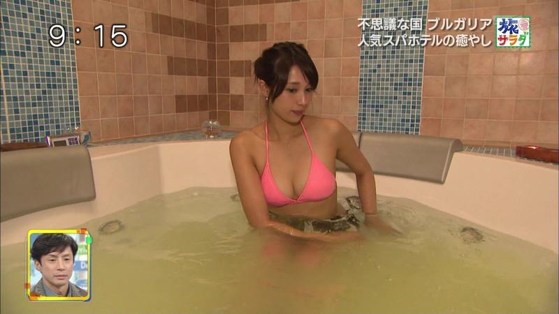 【広瀬未花キャプ画像】マッサージや温泉入浴で綺麗な肌を晒したファッションモデル