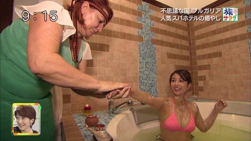 【広瀬未花キャプ画像】マッサージや温泉入浴で綺麗な肌を晒したファッションモデル 03