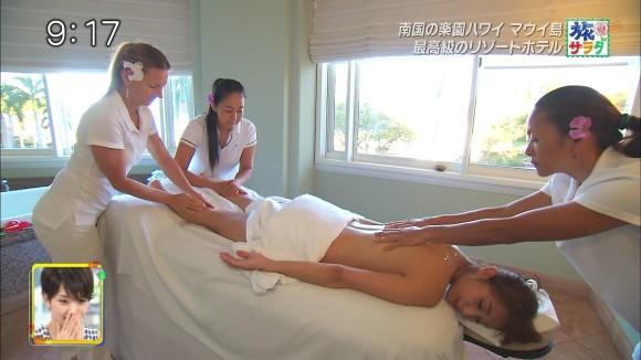 【広瀬未花キャプ画像】マッサージや温泉入浴で綺麗な肌を晒したファッションモデル 42