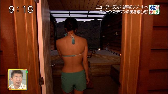 【広瀬未花キャプ画像】マッサージや温泉入浴で綺麗な肌を晒したファッションモデル 53