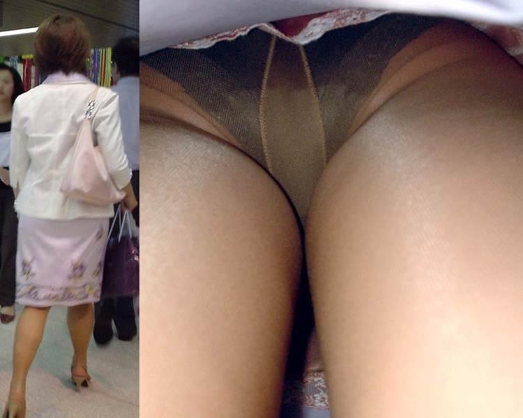 【OLパンストエロ動画】街を歩く制服OLのパンスト美脚を隠し撮り! 21