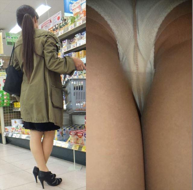 【OLパンストエロ動画】街を歩く制服OLのパンスト美脚を隠し撮り! 40