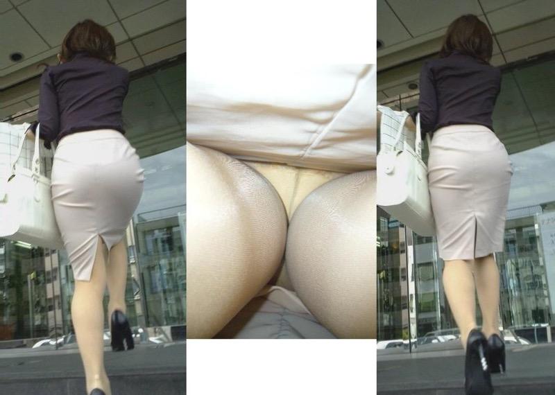 【OLパンストエロ動画】街を歩く制服OLのパンスト美脚を隠し撮り! 68
