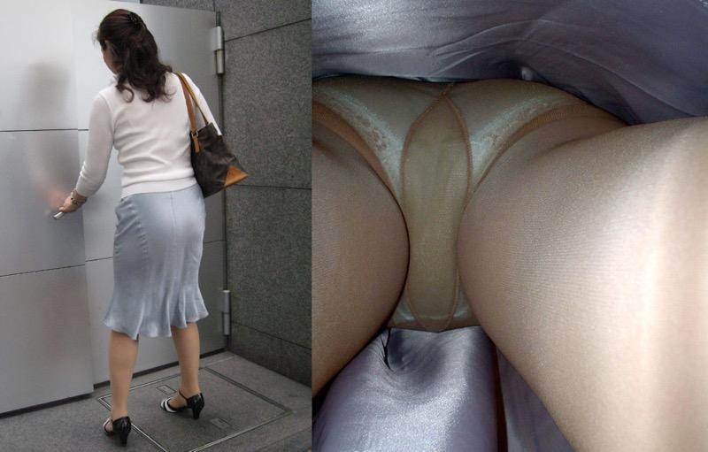 【OLパンストエロ動画】街を歩く制服OLのパンスト美脚を隠し撮り! 72