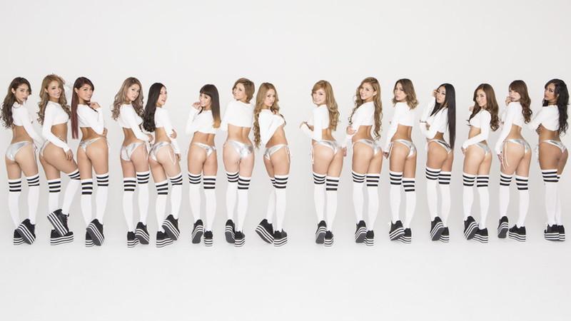【サイバージャパンダンサーズエロ画像】ギャル好き歓喜!?集団でエロい姿を見せまくりw 40