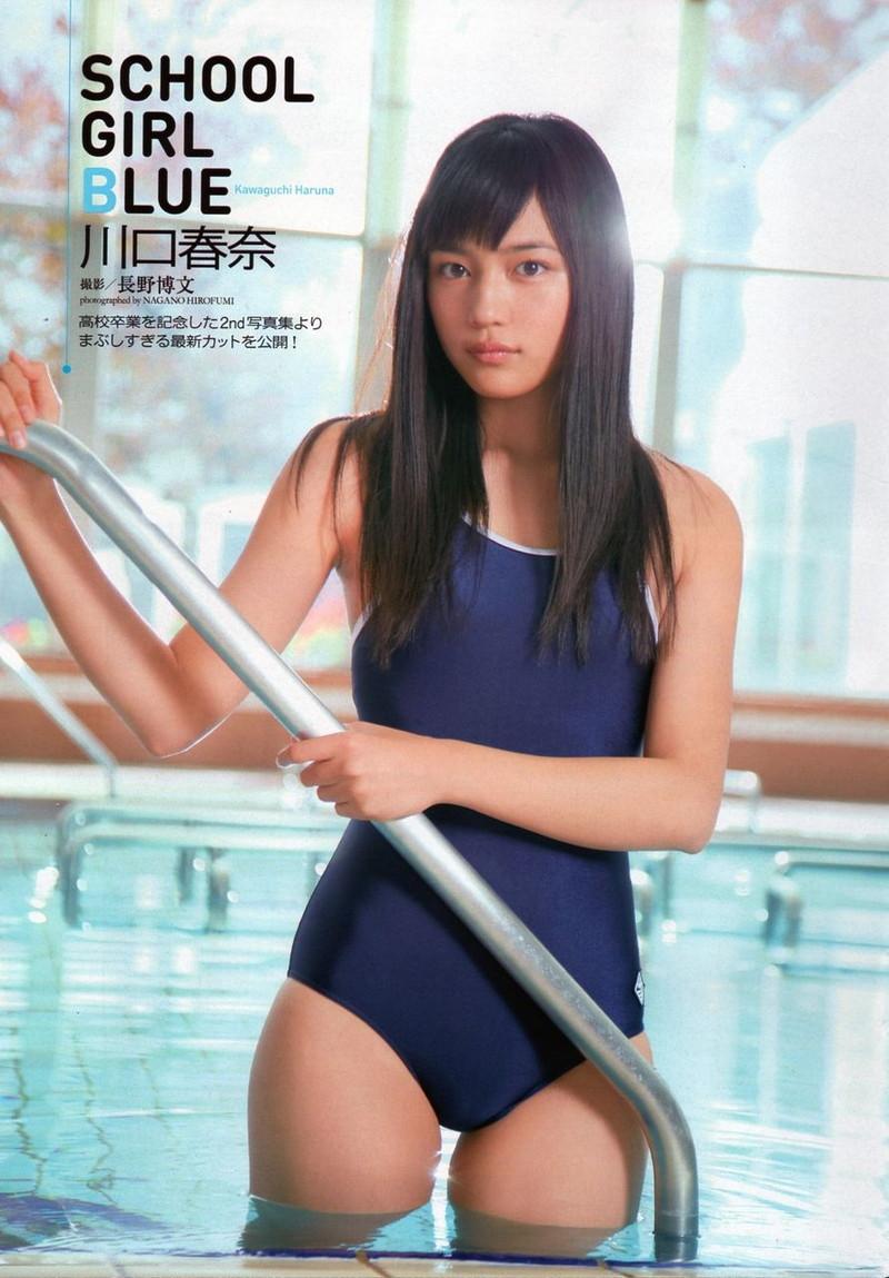 【川口春奈グラビア画像】今では水着姿を見せなくなった女優の貴重なビキニ姿 62
