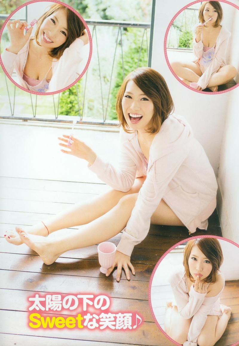 【増田有華エロ画像】視線と谷間がめちゃくちゃセクシーな元AKB48アイドル 47