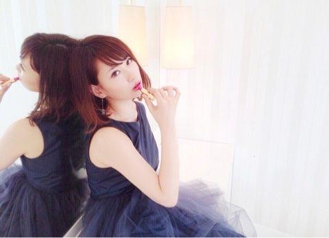 【増田有華エロ画像】視線と谷間がめちゃくちゃセクシーな元AKB48アイドル 65
