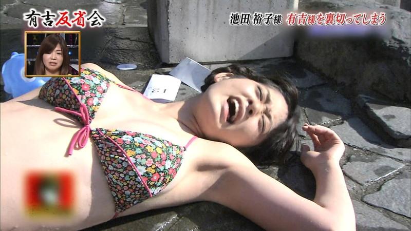 【池田裕子キャプ画像】記者会見で虫を食べるハメになった芸人気質のグラドルwwww 12