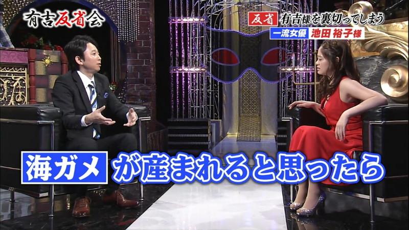 【池田裕子キャプ画像】記者会見で虫を食べるハメになった芸人気質のグラドルwwww 19