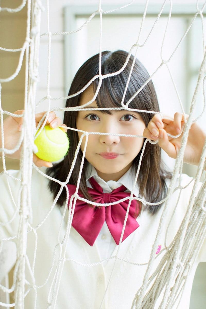 【松永有紗グラビア画像】地味なメガネをかけても美少女ってめっちゃ映えるなぁw 14