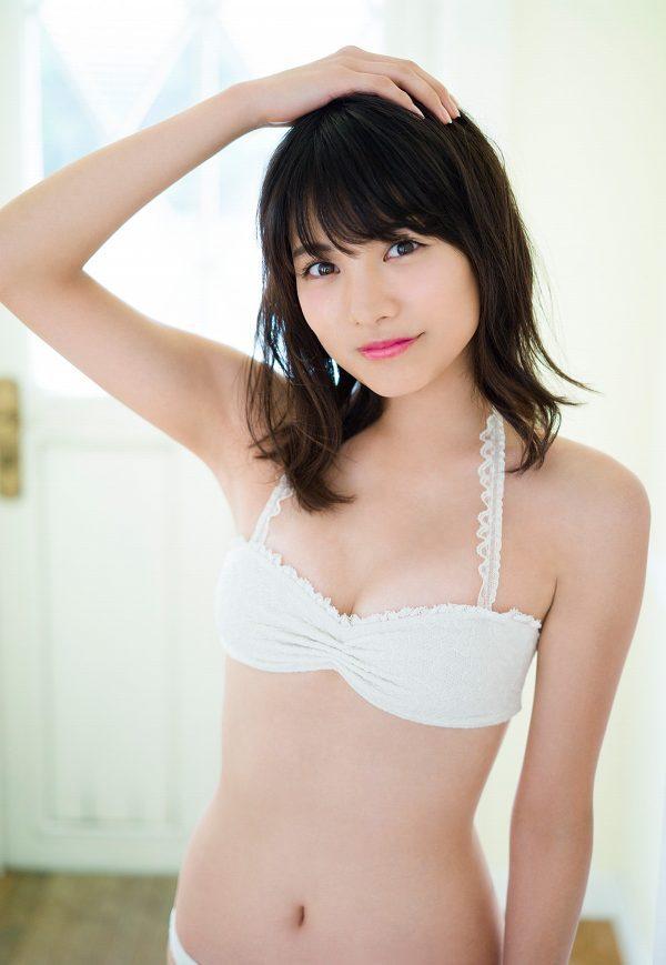 【松永有紗グラビア画像】地味なメガネをかけても美少女ってめっちゃ映えるなぁw 80