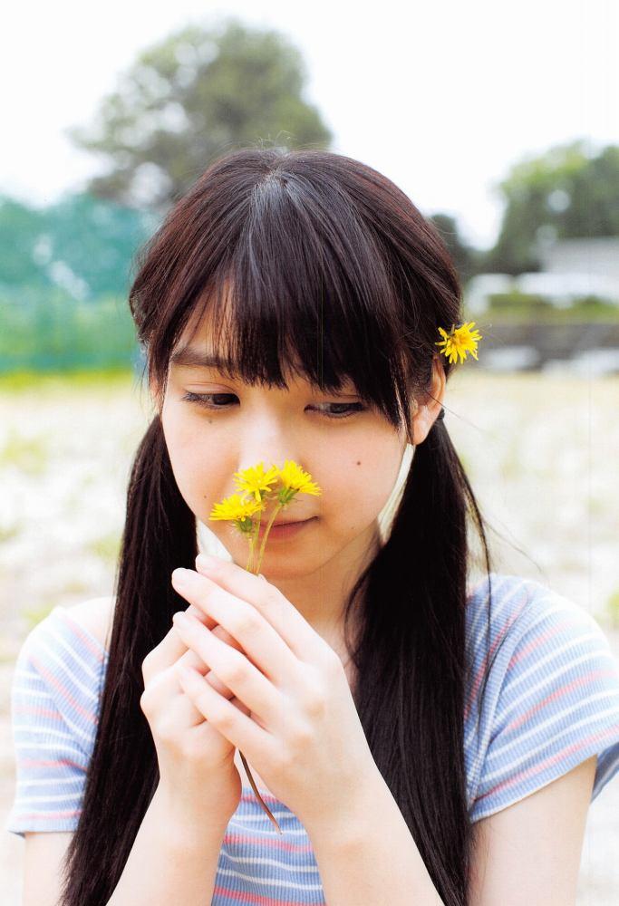 【松岡菜摘グラビア画像】めっちゃ細くてクビレた身体がエロい美少女アイドル 06
