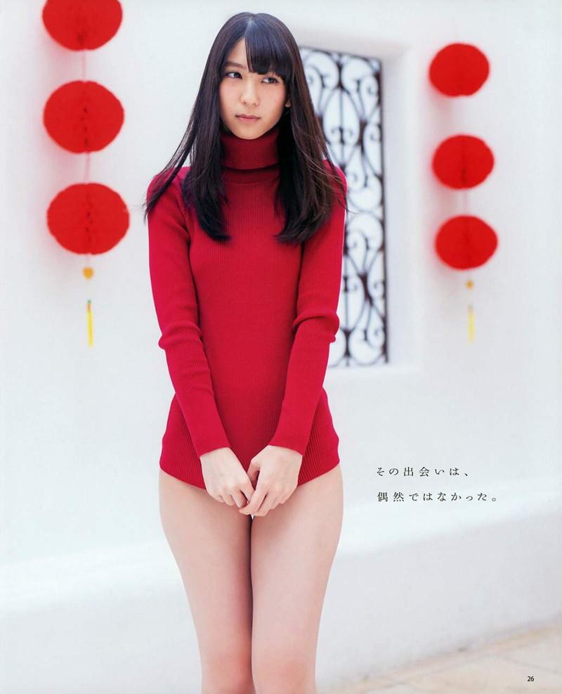 【松岡菜摘グラビア画像】めっちゃ細くてクビレた身体がエロい美少女アイドル 100