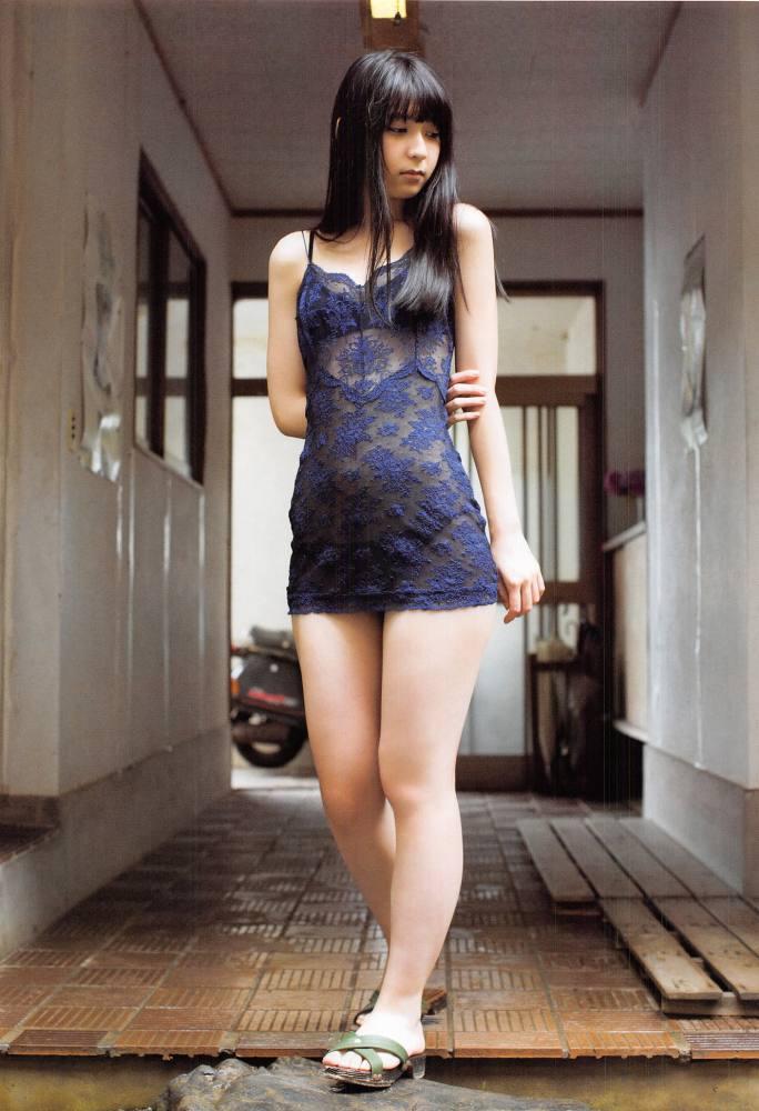 【松岡菜摘グラビア画像】めっちゃ細くてクビレた身体がエロい美少女アイドル 28