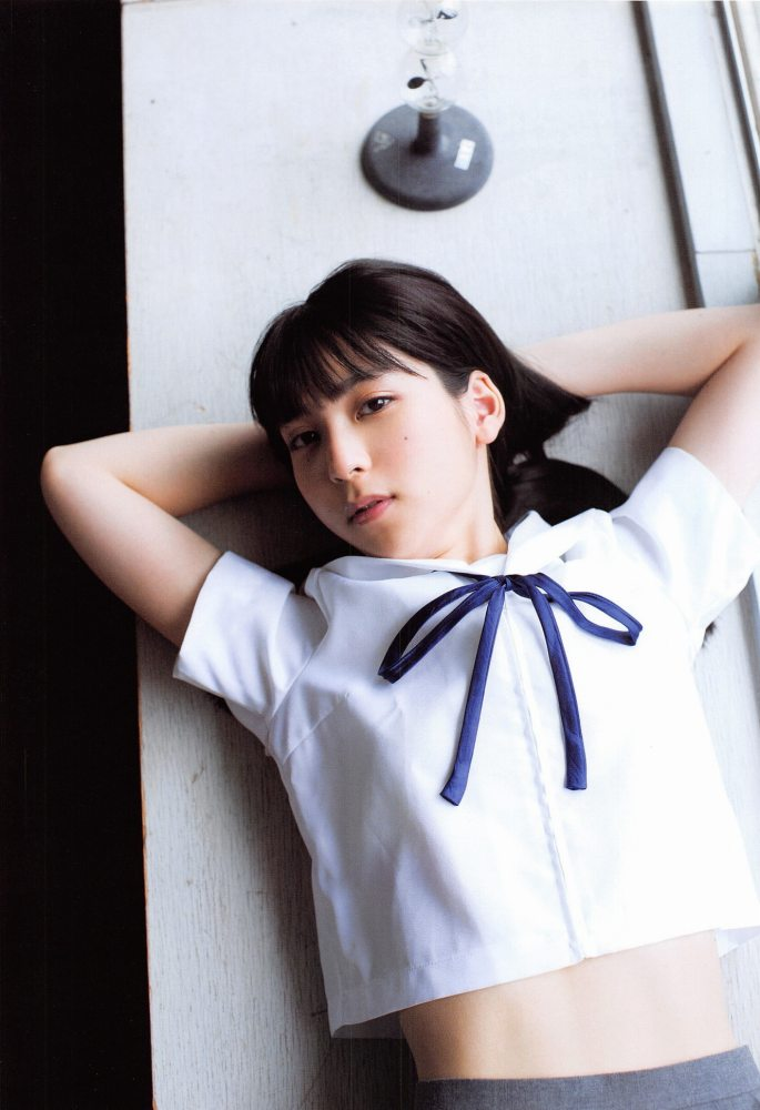 【松岡菜摘グラビア画像】めっちゃ細くてクビレた身体がエロい美少女アイドル 31