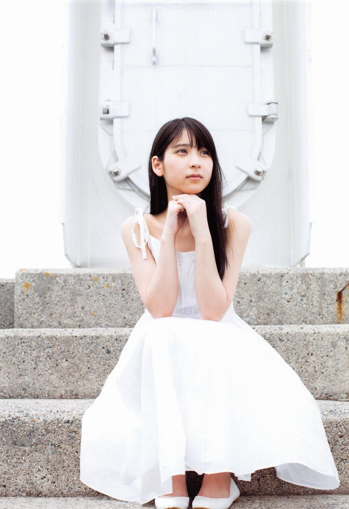 【松岡菜摘グラビア画像】めっちゃ細くてクビレた身体がエロい美少女アイドル 43