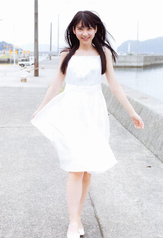【松岡菜摘グラビア画像】めっちゃ細くてクビレた身体がエロい美少女アイドル 44