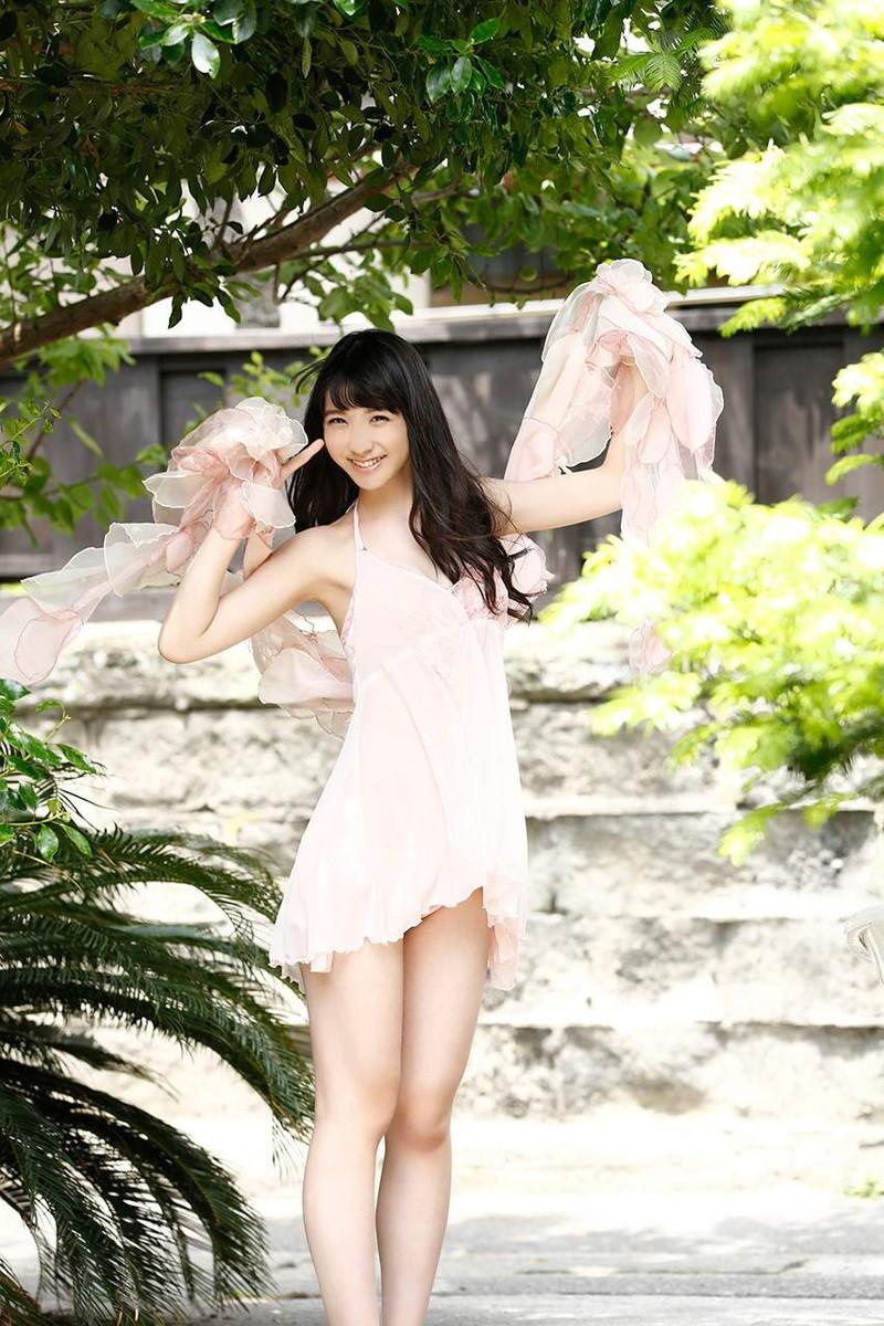【松岡菜摘グラビア画像】めっちゃ細くてクビレた身体がエロい美少女アイドル 60