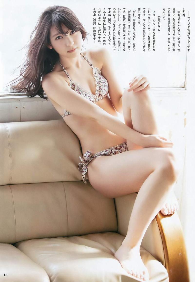 【松岡菜摘グラビア画像】めっちゃ細くてクビレた身体がエロい美少女アイドル 71