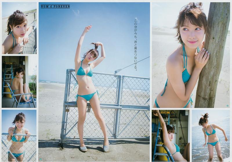 【松本愛グラビア画像】可愛いファッションモデルのちょっとエッチなビキニ姿!