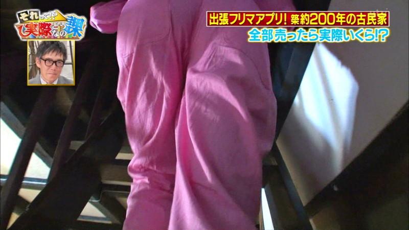 【緑川静香キャプ画像】貧乏女優を売りにしてテレビ出演していた女優の尻アップw 10