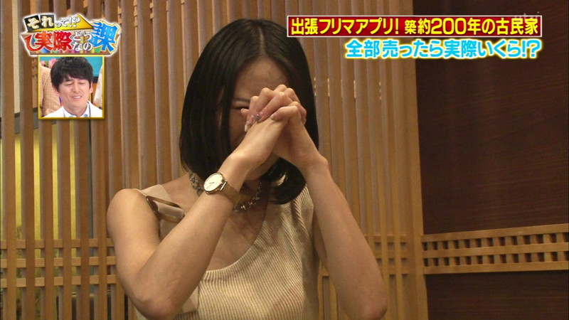 【緑川静香キャプ画像】貧乏女優を売りにしてテレビ出演していた女優の尻アップw 42
