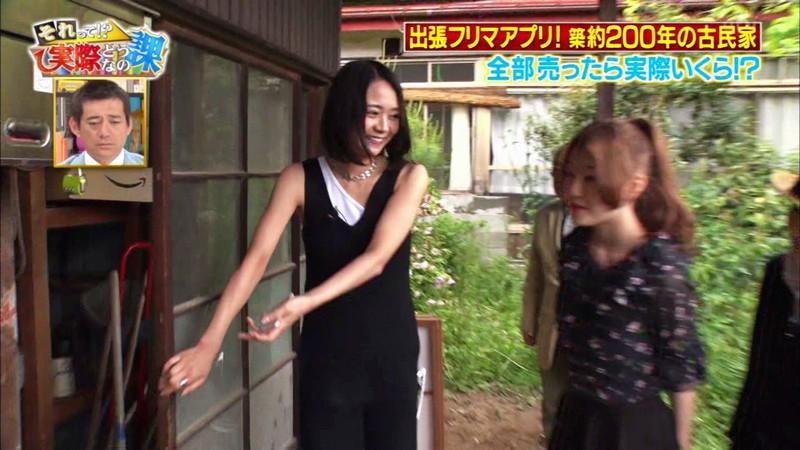 【緑川静香キャプ画像】貧乏女優を売りにしてテレビ出演していた女優の尻アップw 51