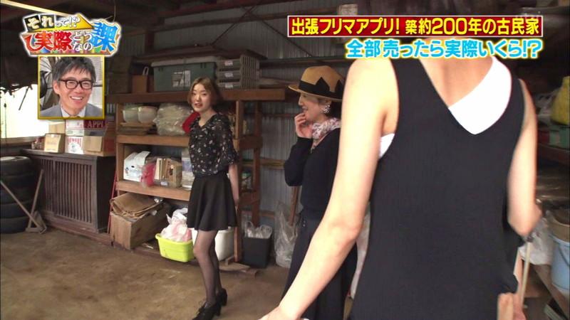 【緑川静香キャプ画像】貧乏女優を売りにしてテレビ出演していた女優の尻アップw 52