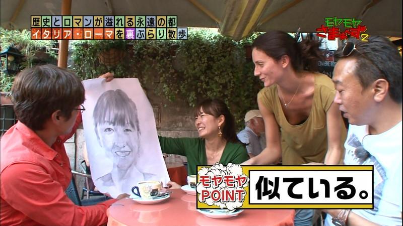 【キャプエロ画像】さまぁ~ずの番組で観られた美女たちのチラリエロシーン 21