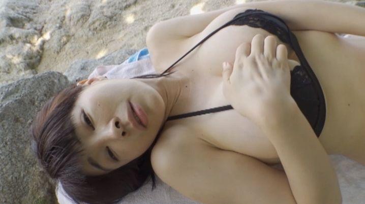 【松坂南濡れ場画像】AVみたいなセックスシーンを撮ってるLカップ爆乳グラドル 12