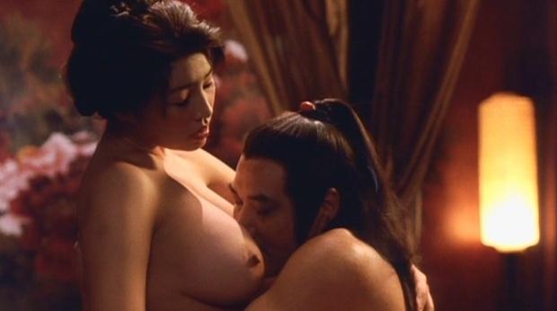 【松坂南濡れ場画像】AVみたいなセックスシーンを撮ってるLカップ爆乳グラドル 67