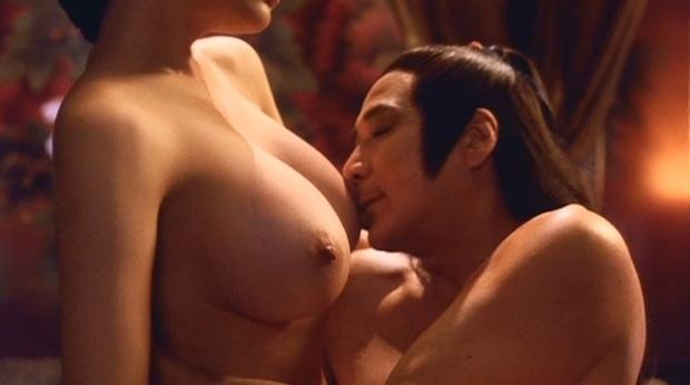 【松坂南濡れ場画像】AVみたいなセックスシーンを撮ってるLカップ爆乳グラドル 68