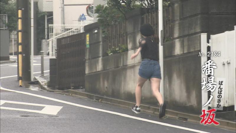 【新谷姫加キャプ画像】ジュニアアイドル出身の可愛いグラドルが全力疾走チャレンジ! 04