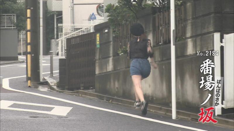 【新谷姫加キャプ画像】ジュニアアイドル出身の可愛いグラドルが全力疾走チャレンジ! 05